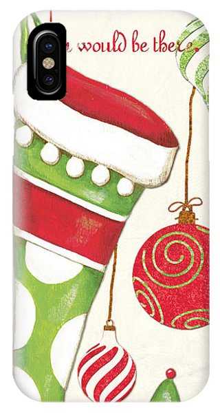 Santa Claus iPhone Case - Twas The Night... by Debbie DeWitt