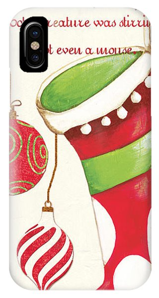 Santa Claus iPhone Case - Twas The Night...2 by Debbie DeWitt
