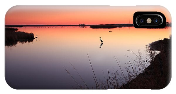 Twilight At Blackwater Wlr IPhone Case