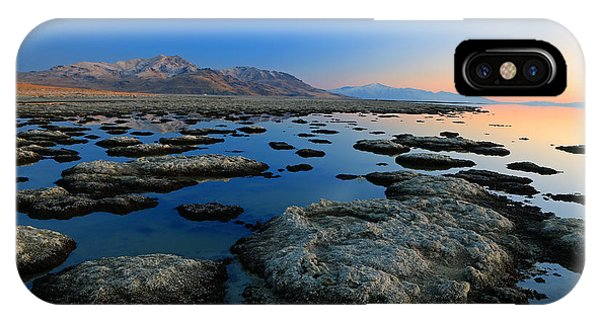 Salt Water iPhone Case - Twilight At Buffalo Point. by Johnny Adolphson