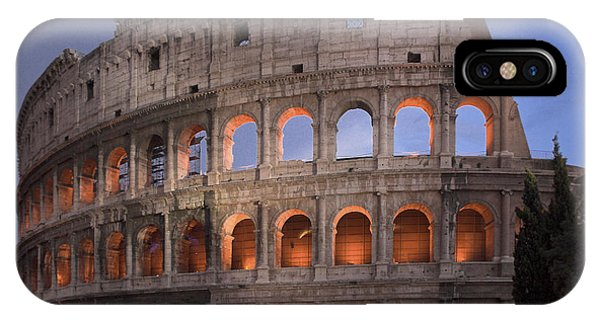 Twilight Colosseum Rome Italy IPhone Case