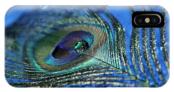 Peacock iPhone Case - Twilight Escape by Krissy Katsimbras