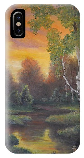 Twilight Fall  IPhone Case