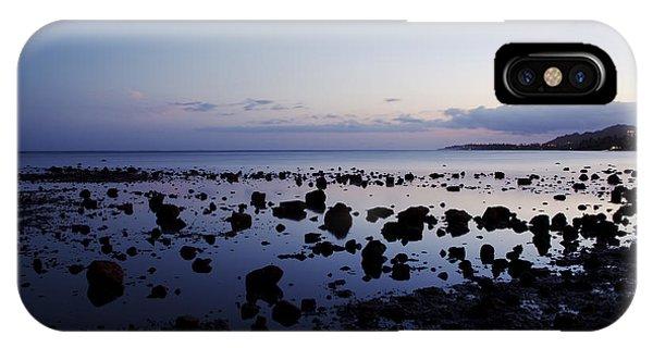 Twilight Glow Over Ocean IPhone Case