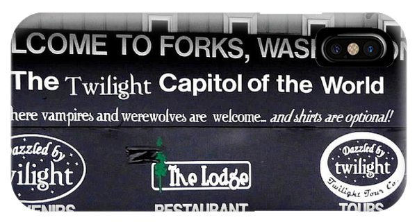 Twilight In Forks Wa 5 IPhone Case