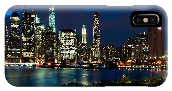 Twilight Nyc Panorama IPhone Case