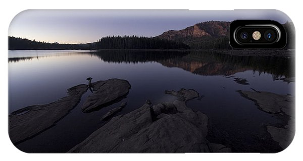 Twilight On Silver Lake IPhone Case