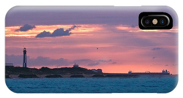 Twilight Over Cape Henry IPhone Case