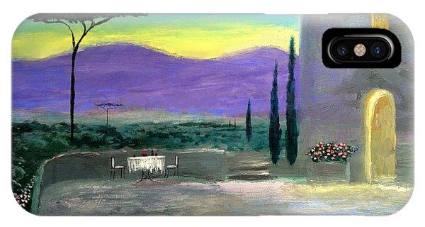 Twilight Tuscany IPhone Case