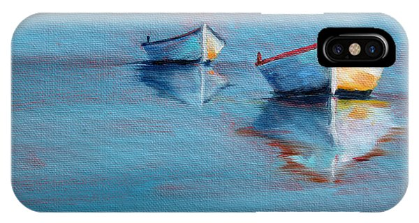 Twin Boats II IPhone Case