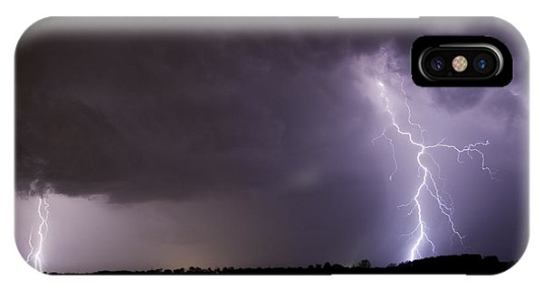 Twin Bolts IPhone Case