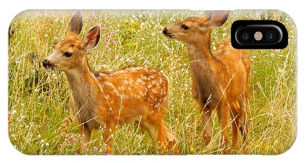 Twin Fawns IPhone Case