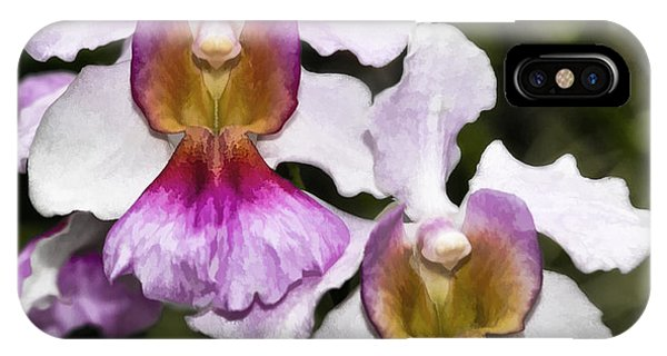 Twin Orchids IPhone Case