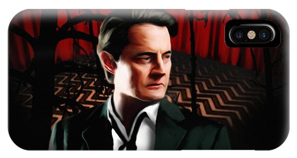 Twin Peaks  Dale Cooper IPhone Case