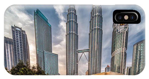 Twin Towers Kl IPhone Case