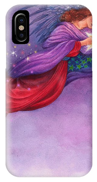 Twinkling Angel IPhone Case