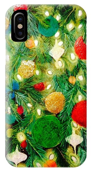Twinkling Christmas Tree IPhone Case