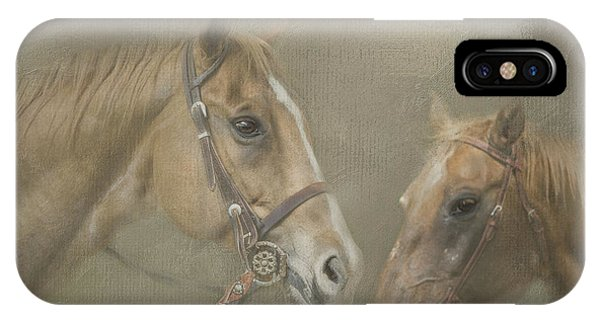 Two Amigos IPhone Case