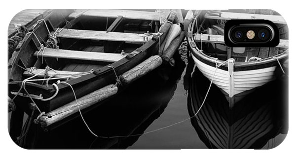 Two At Dock IPhone Case