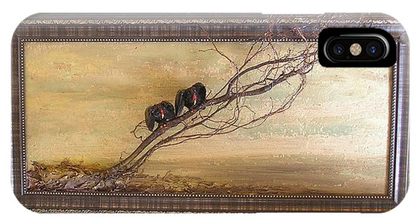 Two Buzzards At Dawn IPhone Case
