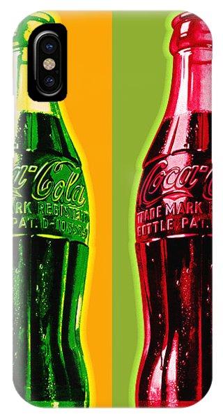 Two Coke Bottles IPhone Case