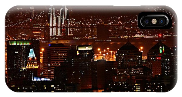 Two Downtowns IPhone Case