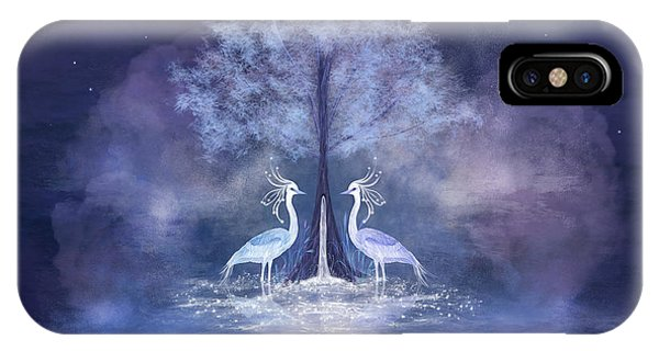 Two Fabulous Herons IPhone Case