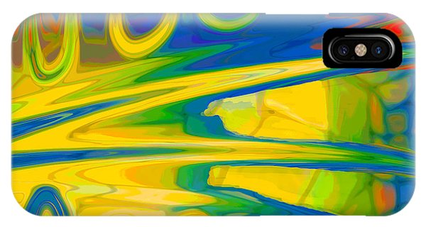 Two Fauvist Snakes IPhone Case