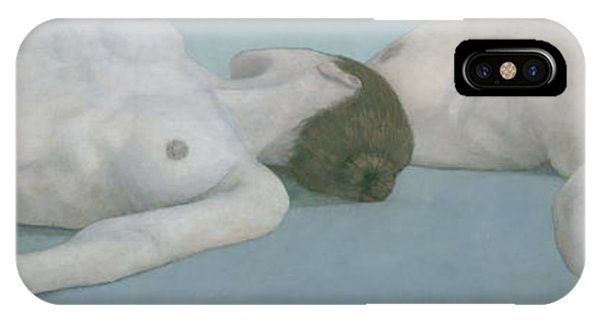 Two Figures Lying IPhone Case