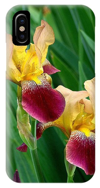Two Iris IPhone Case