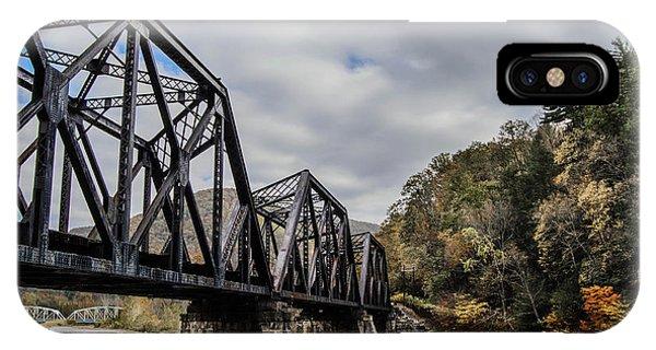 Two Iron Bridges Phone Case by Anthony Thomas