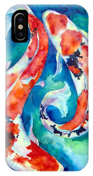 Two Koi Fish IPhone Case