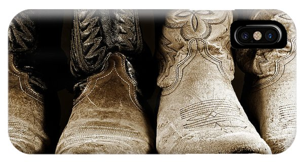 Two Pair Of Cowboy Boots Are Better Than One IPhone Case