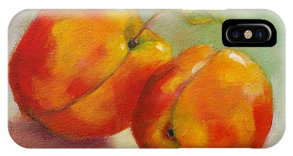 Two Peaches IPhone Case