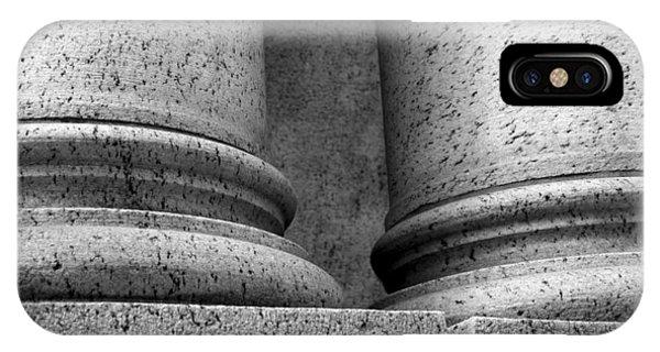 Two Pillars 001 IPhone Case