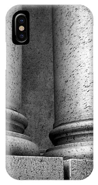 Two Pillars 002 IPhone Case
