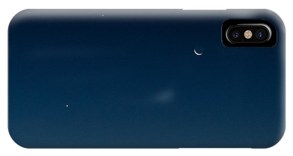 Two Planets And A Moon IPhone Case