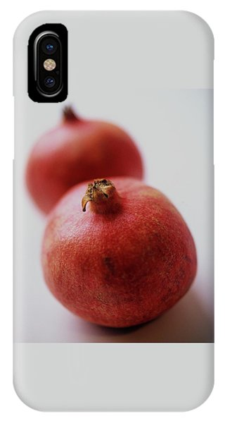 Two Pomegranates IPhone X Case