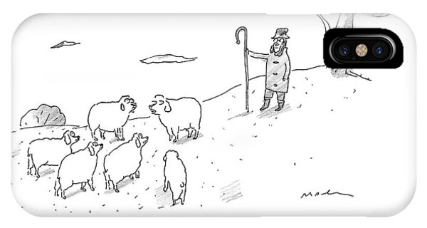 Two Sheep Talk About Their Shephard IPhone Case
