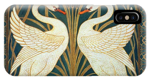 Two Swans IPhone Case