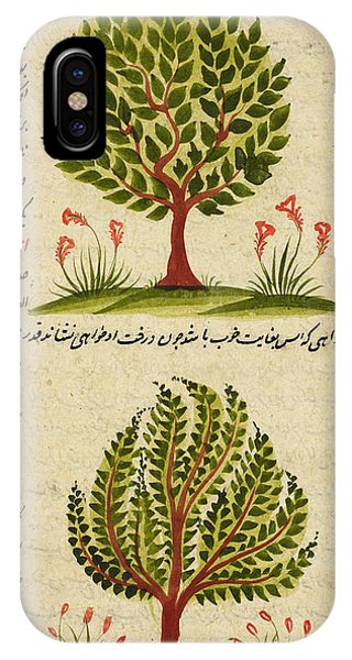 Strange iPhone Case - Two Trees by British Library