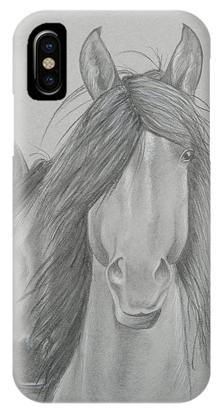 Two Wild Horses IPhone Case