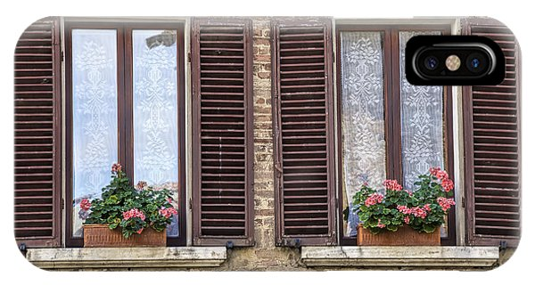 Two Windows Of Florence IPhone Case