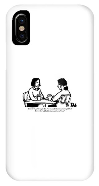 Two Women Are Seen Sitting And Speaking With Each IPhone Case