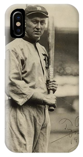 Ty Cobb  Poster IPhone Case