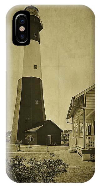 Tybee Island Light Station IPhone Case