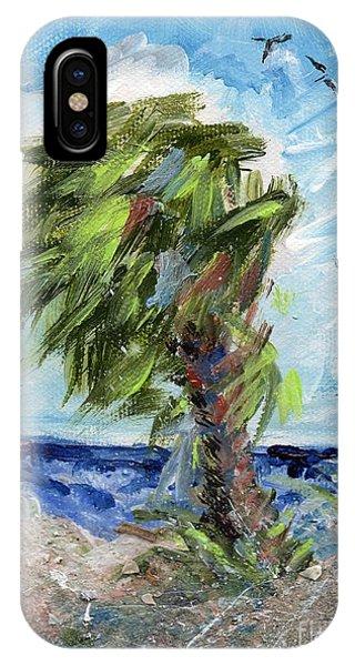 Tybee Palm Mini Series 1 IPhone Case