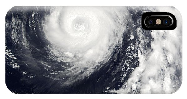 Typhoon 12w Phone Case by Nasa/science Photo Library