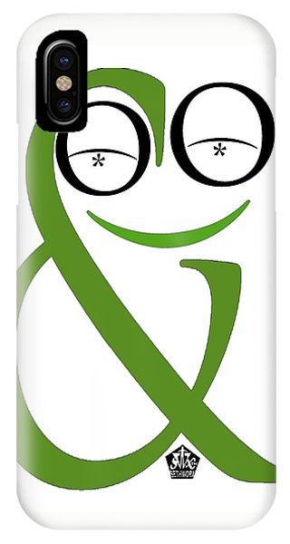 Typographical Frog IPhone Case