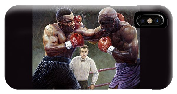 Tyson/holyfield IPhone Case